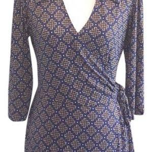 Laundry by Shelli Segal wrap dress XS